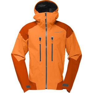 Norrøna Trollveggen Gore-Tex Pro Jacket Herr Pure Orange Pure Orange