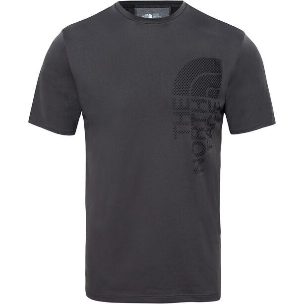 The North Face Ondras S/S Tee Herr asphalt grey/tnf black