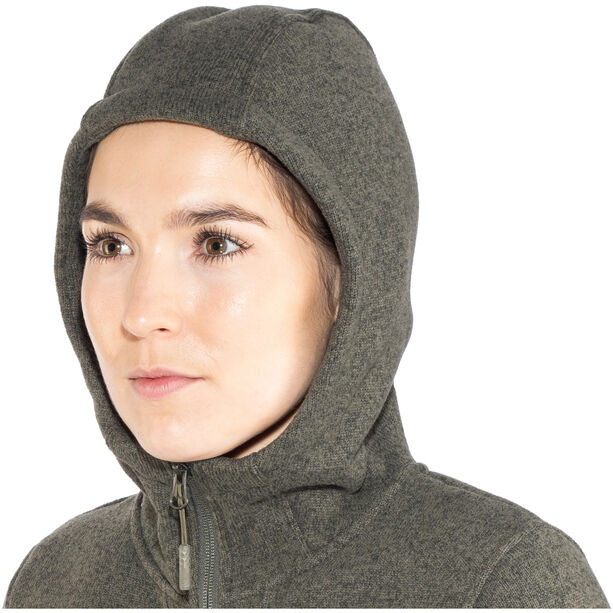 The North Face Crescent Parka Dam new taupe green heather
