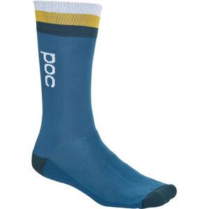 POC Essential Mid Length Socks Herr antimony multi blue antimony multi blue