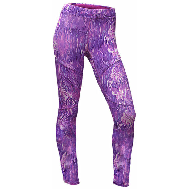 The North Face Motus III Tights Dam wood violet oil spill print