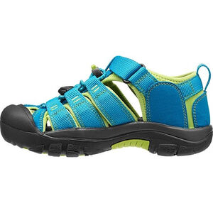 Keen Newport H2 Sandals Barn hawaiian blue/green glow hawaiian blue/green glow