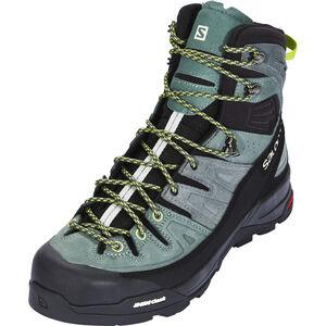 Salomon X Alp High LTR GTX Shoes Herr urban chic/balsam green/lime green urban chic/balsam green/lime green