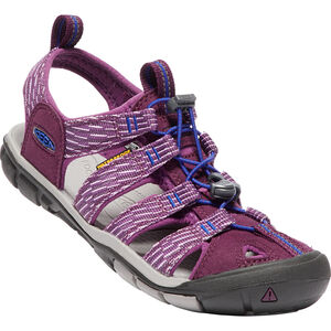 Keen Clearwater CNX Sandals Dam grape wine/grape kiss