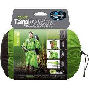 Sea to Summit Nylon Tarp Poncho Waterproof green green