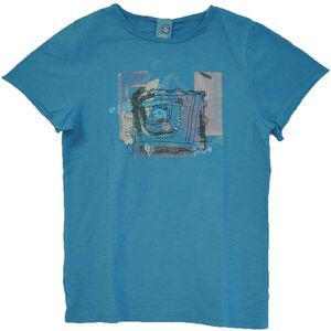 E9 Luis T-Shirt Barn cyan cyan