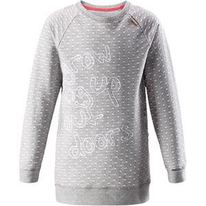Reima Fugl LS Shirt Girls Melange Grey Melange Grey