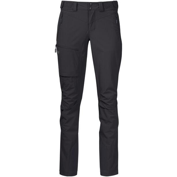 Bergans Breheimen Softshell Pants Dam solid charcoal/solid dark grey