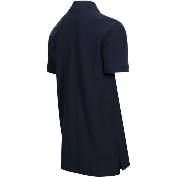 Peak Performance Classic Pique Shirt Herr blue shadow