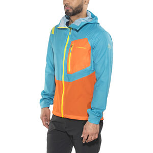 La Sportiva Hail Jacket Herr tropic blue/lava tropic blue/lava