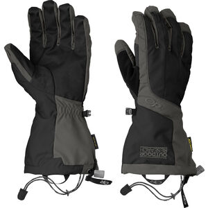 Outdoor Research Arete Gloves Herr black/charcoal black/charcoal