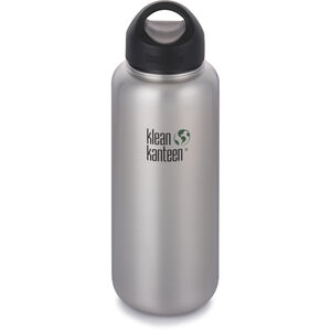 Klean Kanteen Wide Bottle Stainless Loop Cap 1182ml brushed stainless brushed stainless