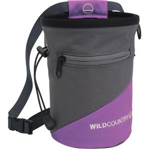 Wild Country Cargo Chalk Bag purple purple
