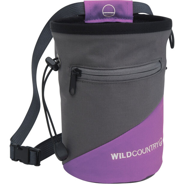 Wild Country Cargo Chalk Bag purple