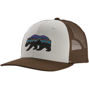 Patagonia Fitz Roy Bear Trucker Hat white/bristle brown white/bristle brown