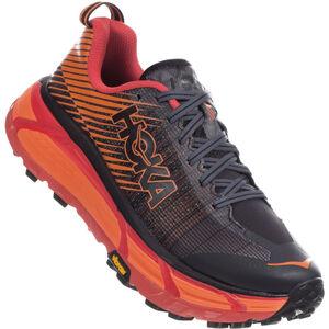 Hoka One One EVO Mafate 2 Running Shoes Dam Black/Poppy Red Black/Poppy Red