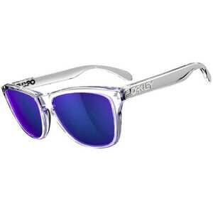 Oakley Frogskins (24-306) Polished Clear/Violet Iridium Polished Clear/Violet Iridium