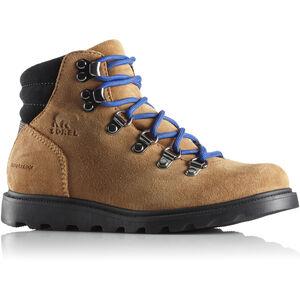 Sorel Madson Hiker Waterproof Shoes Barn camel brown/black camel brown/black
