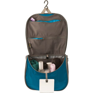 Sea to Summit Travelling Light Hanging Toiletry Large blue/grey blue/grey