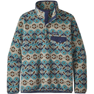 Patagonia Synchilla Snap-T Lightweight Pullover Dam Tundra Cluster/Big Sky Blue Tundra Cluster/Big Sky Blue