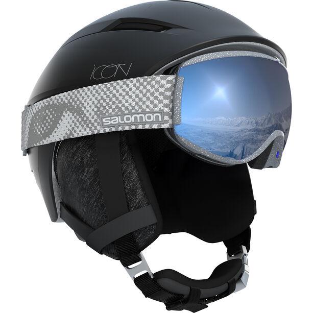 Salomon Icon² C.Air Helmet Dam black