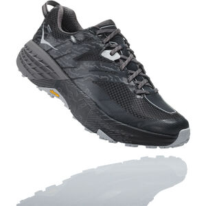 Hoka One One Speedgoat 3 WP Hiking Shoes Herr black/drizzle black/drizzle