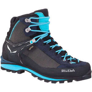 SALEWA Crow GTX Shoes Dam premium navy/ethernal blue premium navy/ethernal blue