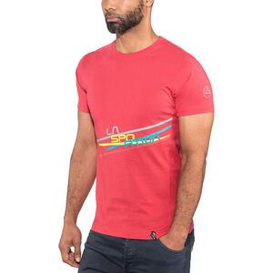 La Sportiva Stripe 2.0 T-shirt Herr cardinal red cardinal red