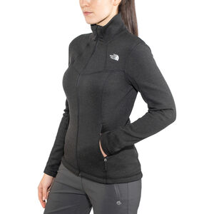 The North Face Inlux Wool Full Zip Jacket Dam tnf black tnf black