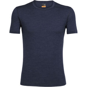 Icebreaker Oasis SS Crewe Shirt Herr fathom hthr fathom hthr