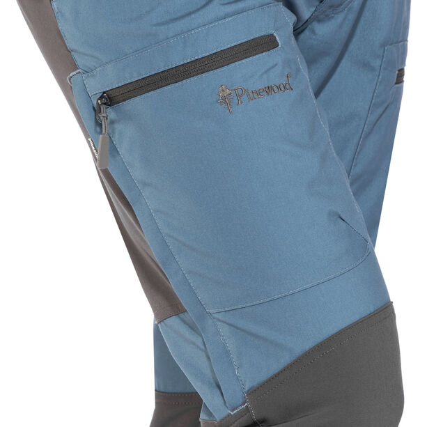 Pinewood Caribou TC Pants Herr blue/grey