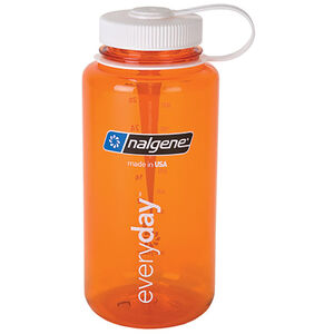 Nalgene Wide Mouth Bottles 1l orange/white tritan orange/white tritan