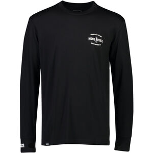 Mons Royale Yotei Tech LS Baselayer Herr black black