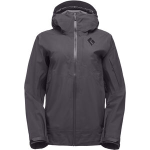 Black Diamond Mission Shell Jacket Dam smoke smoke