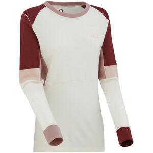 Kari Traa Yndling LS Shirt Dam Neutral White Neutral White