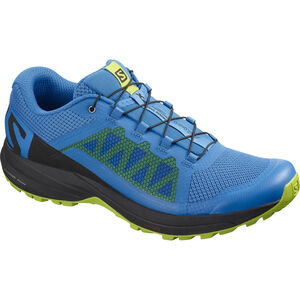 Salomon XA Elevate Shoes Herr indigo bunting/black/lime green indigo bunting/black/lime green