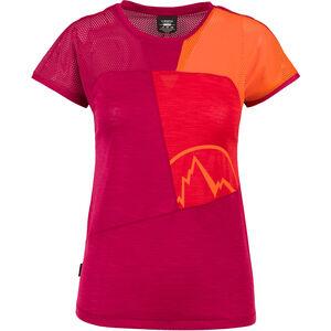 La Sportiva Push T-shirt Dam beet/garnet beet/garnet