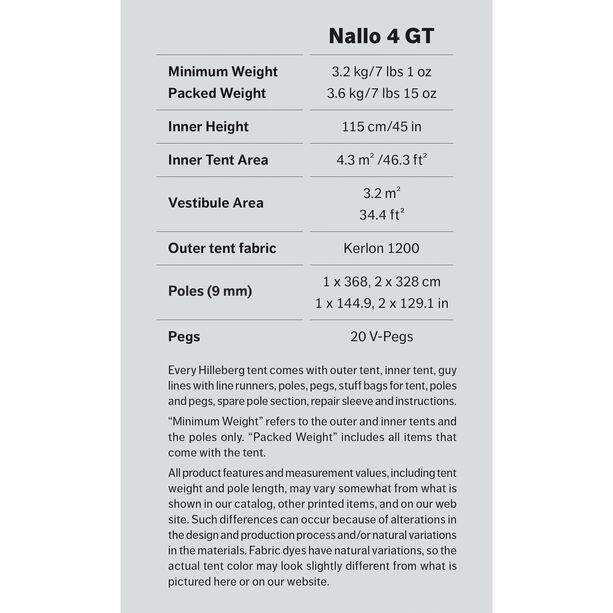 Hilleberg Nallo 4 GT grön