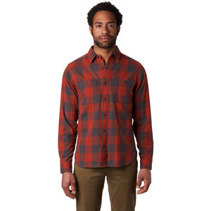 Mountain Hardwear Catalyst Edge Long Sleeve Shirt Herr Rusted Rusted