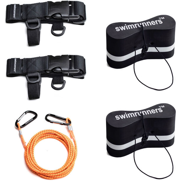 Swimrunners Support Pull Belt Team Kit black