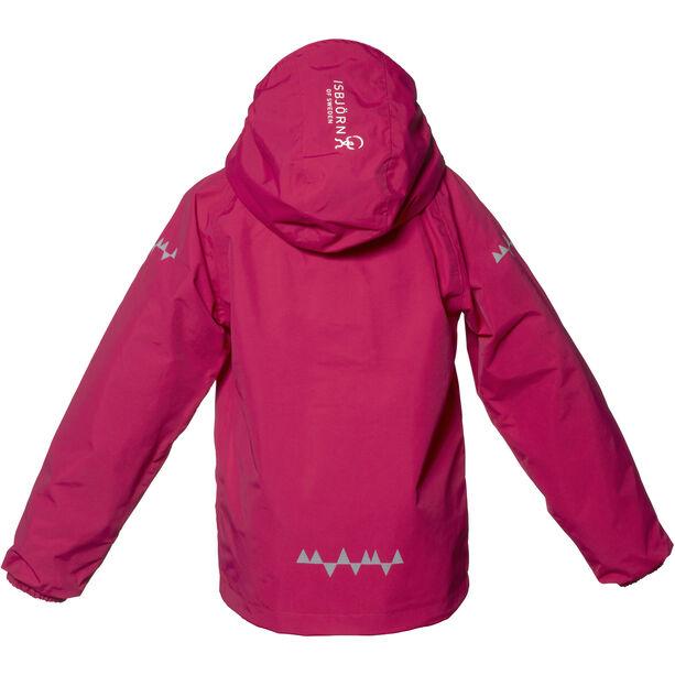 Isbjörn Storm Hard Shell Jacket Barn hibiskus