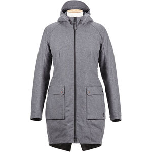 Alchemy Equipment Laminated Wool Insulated Parka Dam grey grey