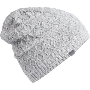 Icebreaker Diamond Line Beanie Blizzard Heather Blizzard Heather