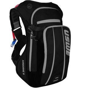 USWE Airborne 9 Backpack black/grey black/grey
