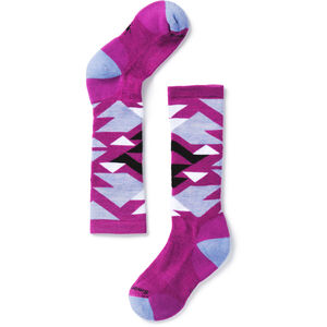 Smartwool Wintersport Neo Native Crew Socks Flickor Meadow Mauve Meadow Mauve
