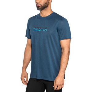 Salomon Agile Graphic Tee Herr night sky night sky