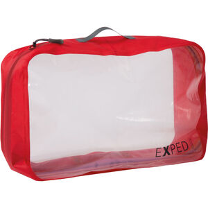 Exped Clear Cube Organizer 12l red red