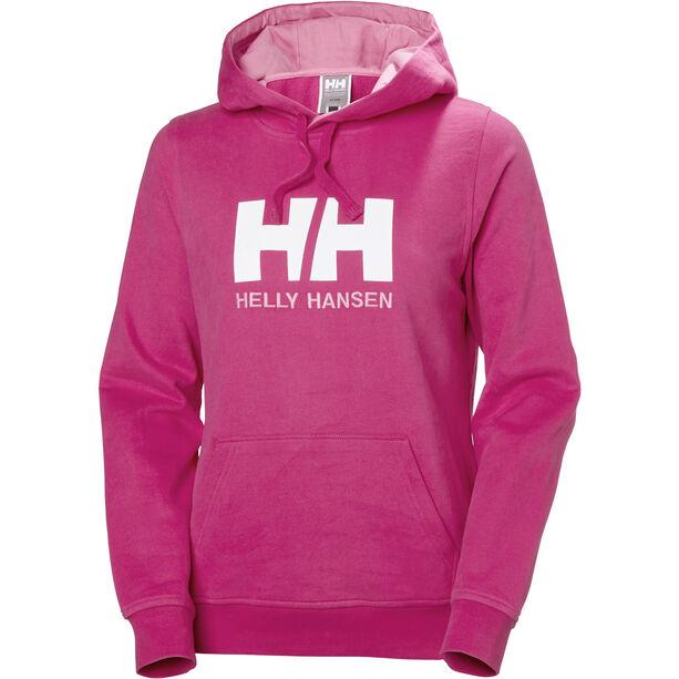 Helly Hansen HH Logo Hoodie Dam dragon fruit