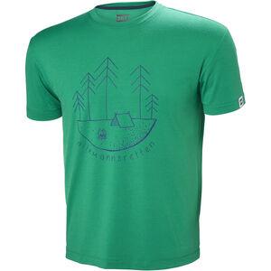 Helly Hansen Skog Graphic T-shirt Herr pepper green pepper green