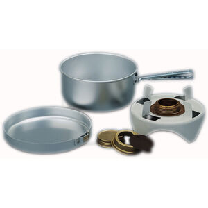 Trangia Open Spirit Stove with Billy and Pan